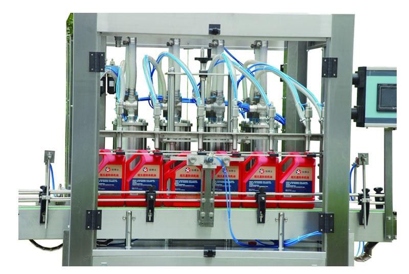 Machine oil filling machine