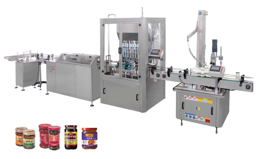 pepper sauce filling machine