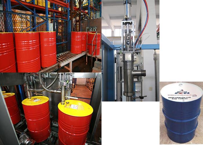 big drum oil filling machine