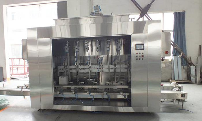 lubricant-oil-bottling-filling-machine