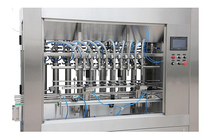 Automatic Linear Type Olive Oil Bottling Machine