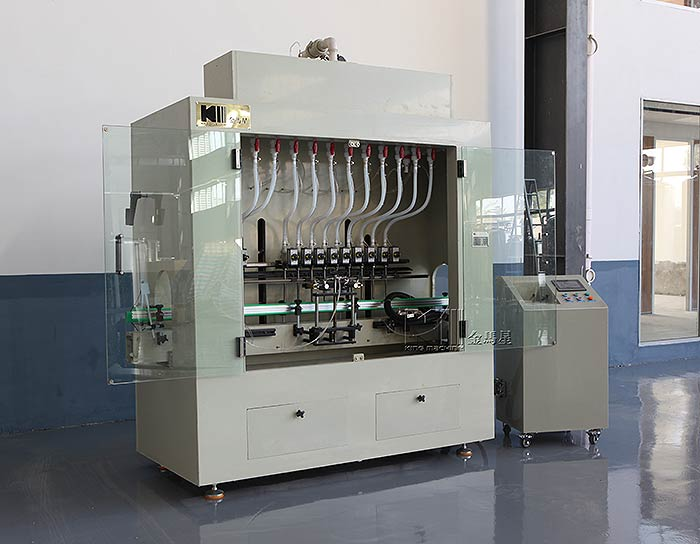 automatic-linear-type-engine-oil-filling-machine