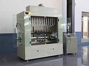 Automatic Linear Type Engine Oil Filling Bottling Packing Equipment