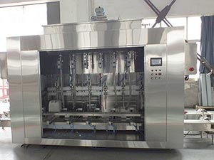lubricating-oil-filler-machine